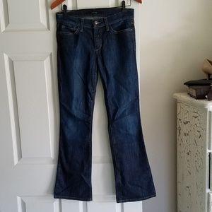 Joe's Jeans Petite Bootcut 26 actual 29.75x30